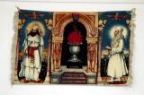 Zoroastrian tapestry, Silk Road Hotel