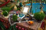 No Ruz table, Silk Road Hotel