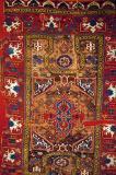 Prayer carpet, Konya (Bellini type) 18th C, Tomb of Haseki Hürrem Sultan, Istanbul