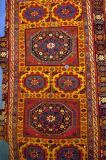 Bergama Carpet, 17th C, from the Tomb of Sultan Aleaddin Keykubad, Konya