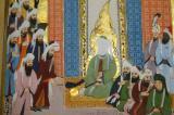 Detail of Siyeri-i Nebi (Life of the Prophet), Ottoman period, mid 17th C, illumination by Sayyid Suleyman Qasim Pasha
