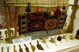 Equipment for wool production and carpet or kilim weaving
