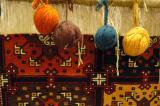 Carpet loom and wool
