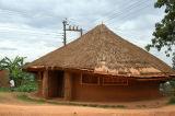 Along Masiro Road near the Kasubi Tombs