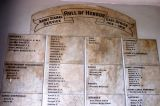 Army Signal Service Roll of Honour East Africa 1914-1918, Old Post Office, Sokoine Dr