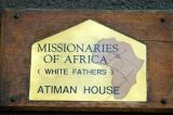 Missionaries of Africa (White Fathers) Atiman House, Sokoine Drive, Dar es Salaam