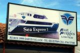 Zanzibar Ferry Terminal - Sea Express I