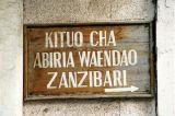 Departures for Zanzibar