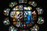 Stained glass, St. Joseph's Cathedral, Dar es Salaam, Tanzania