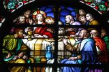 Stained glass, St. Joseph's Cathedral, Dar es Salaam