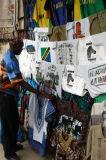 T-shirt sellers, Samora Ave