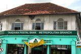 Tanzania Postal Bank Metropolitan Branch, Samora Ave & Maktaba St, now closed