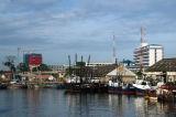 Dar es Salaam Harbor from the Zanzibar Ferry