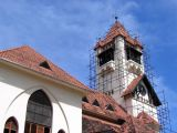 Azania Front Lutheran Church under renovation
