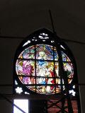 Stained glass window, Lutheran Church, Dar es Salaam