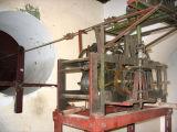 Clock mechanism in the tower of Azania Front Lutheran Church, Dar es Salaam