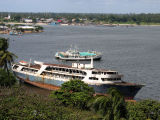 The MV Zahara, a future shipwreck beached along Kivukoni Front, Dar es Salaam