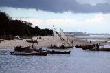 The beach at Ocean Road near the Fish Market, Dar es Salaam