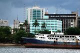 The sad ship MV Zahara beached in central Dar es Salaam
