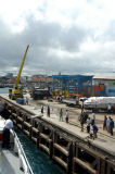 Even arriving from Dar es Salaam, there is a customs & immigration check