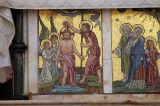 Left panel, Anglican Cathedral Altar, Zanzibar