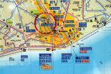 Lisbon public transit map detail