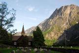 Kors Kirke (church) Marstein, Romsdalen