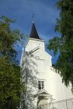 White wooden church, Verma