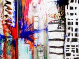 Niki de Saint Phalle  a child in New York, double perspective