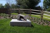 Sculpture Near Garden #1