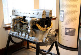 King-Bugatti 16 cyl Aircraft Engine