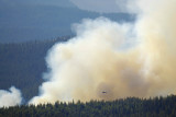 Helicopter sans bucket Howland Fire