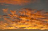 Fiery Clouds Horz Sunset 02 Oct 2012