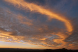 Reaching North at Sunset 05 Oct 2012