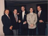some good buddies at my wedding - 1996