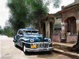 Cuba car 12x9