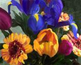 *flowers mix1 10x8