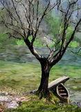 boat tree 9x12