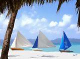 blue sail 12x9
