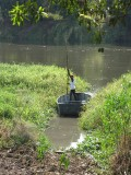Boat crossing to Juba Island