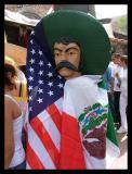 Downtown LA Immigration March
