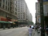 Walking Towards Broadway