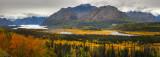 Matanuska Glacier and River Valley