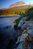 Saint Mary Creek and Singleshot Mountain