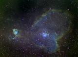 IC 1805, la Nébuleuse du Coeur - Heart Nebula