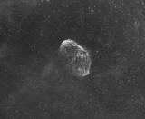 NGC 6888 - La Nébuleuse du Croissant (détail)