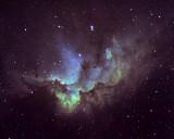 NGC 7380, le Sorcier