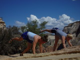 angels landing zion, not able to sync the handstand