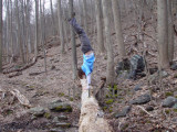 acro hiking, appalachian trail