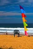 Bali flag at Collaroy Beach, Sydney, Australia